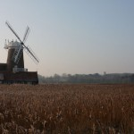 Cley Windmill dates back to the 1700s