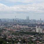great view of KL from Hulu Langat Lookout Point